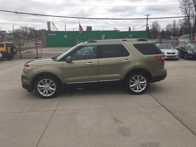 2012 Ford Explorer car for sale in Detroit