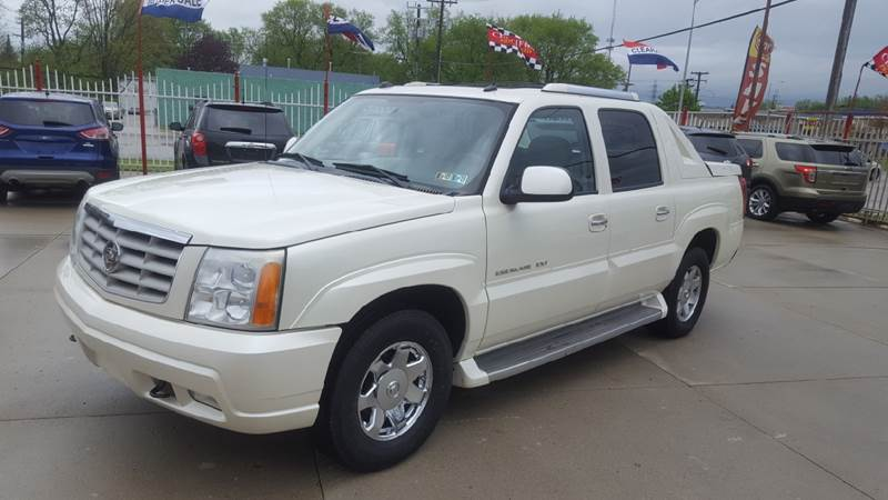 2005 Cadillac Escalade Ext car for sale in Detroit