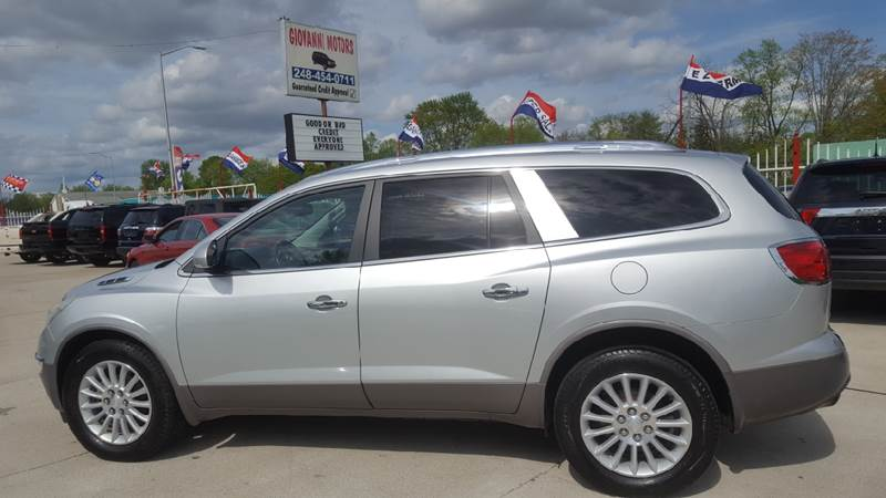 2010 Buick Enclave Detroit Used Car for Sale