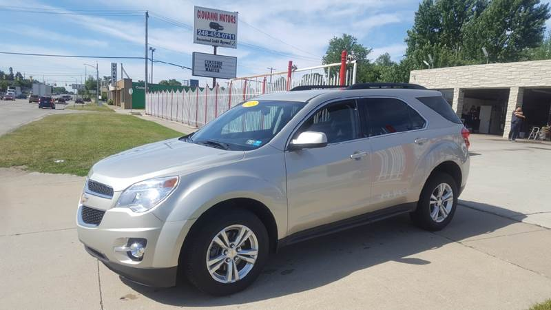 2015 Chevrolet Equinox car for sale in Detroit