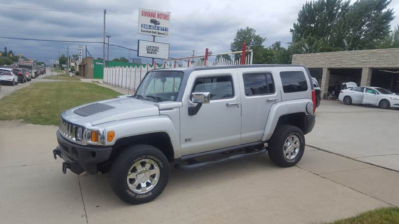 2010 Hummer H3 car for sale in Detroit