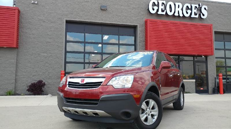 2008 SATURN VUE XE 4DR SUV ruby red door handle color - body-color exhaust tip color - stainless