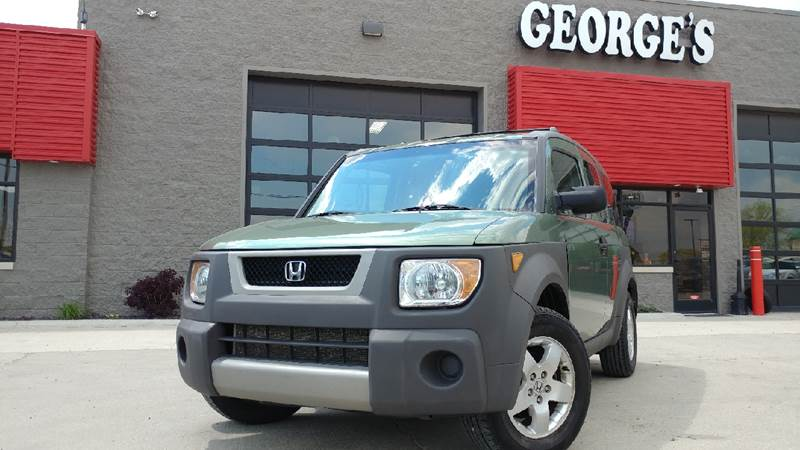 2004 HONDA ELEMENT EX AWD 4DR SUV galapagos green metallic carfax 1 owner awd you can kiss the