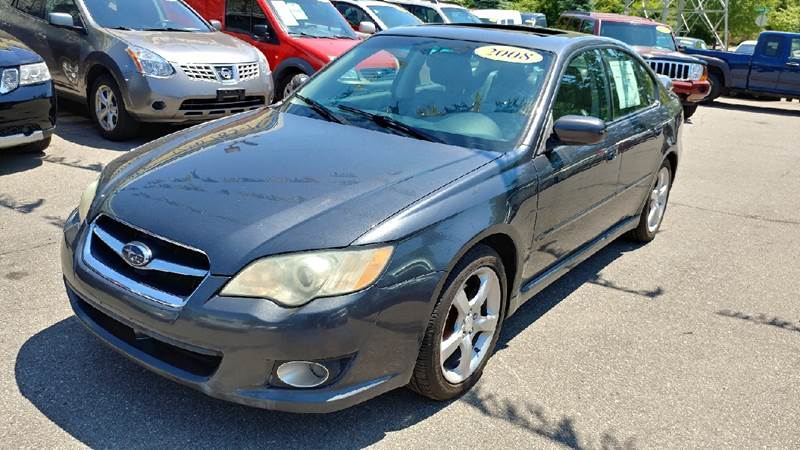 2008 SUBARU LEGACY 25I LIMITED AWD 4DR SEDAN 4A diamond gray metallic 35l 5-cylinder mpi dohc a