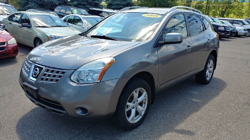 2009 NISSAN ROGUE SL AWD CROSSOVER 4DR gotham gray metallic awd no games just business youll