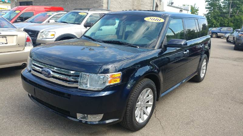 2010 FORD FLEX SEL 4DR CROSSOVER dark ink blue metallic carfax 2 owners and no owners the cabins