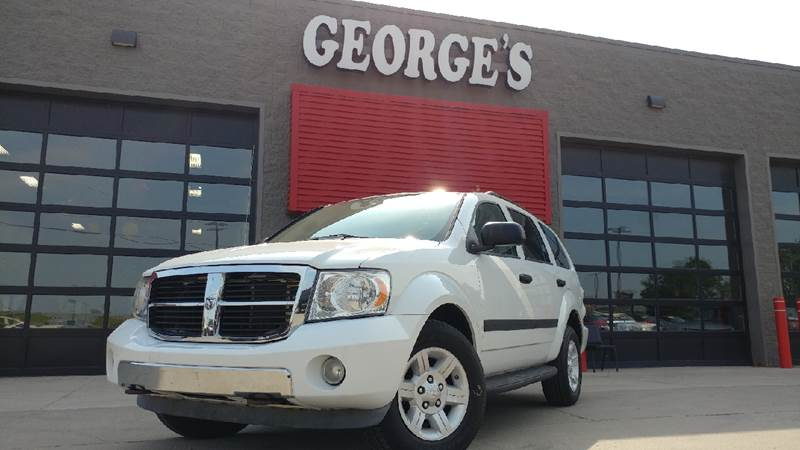 2009 DODGE DURANGO SE 4X4 4DR SUV bright white carfax 1 owner and no accidents 47l v8 and 4wd