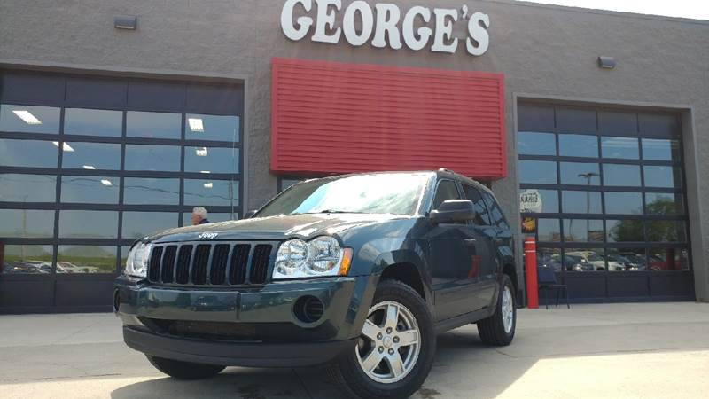 2006 JEEP GRAND CHEROKEE LAREDO 4DR SUV 4WD deep beryl green pearlcoat carfax 1 owner 4wd with