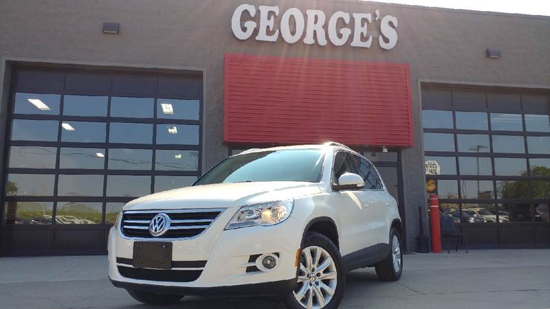 2009 VOLKSWAGEN TIGUAN SEL 4MOTION AWD 4DR SUV candy white awd volkswagen fever make your way ov