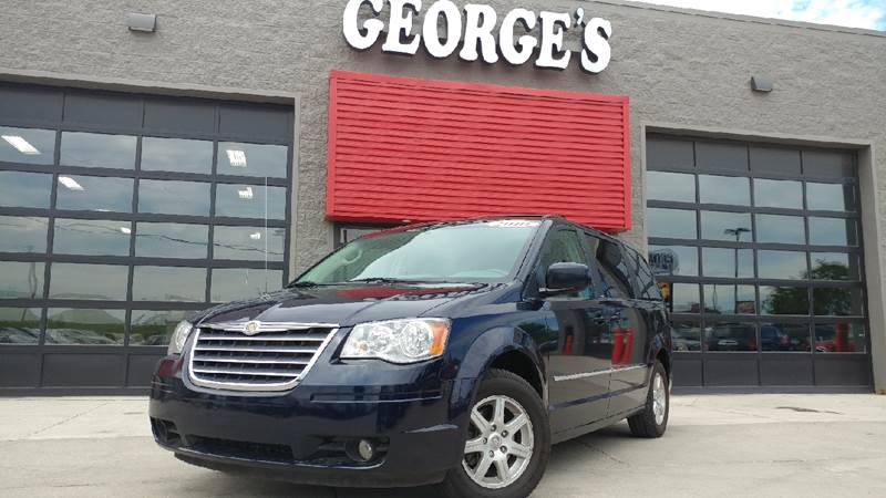 2010 CHRYSLER TOWN AND COUNTRY TOURING 4DR MINI VAN blackberry pearl cloth seems like turbo all t