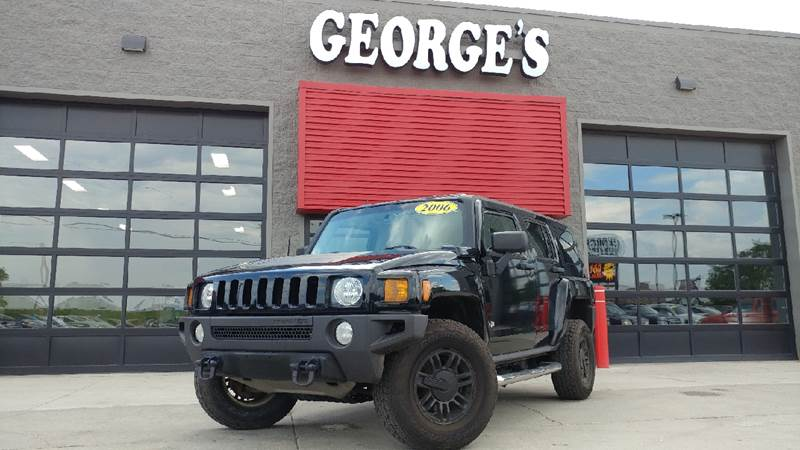 2006 HUMMER H3 BASE 4DR SUV 4WD black 4 wheel drive wow what a sweetheart come take a look at
