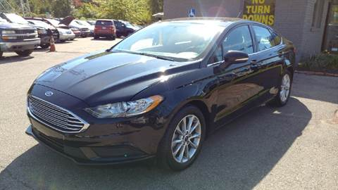 2017 Ford Fusion for sale in Brownstown, MI