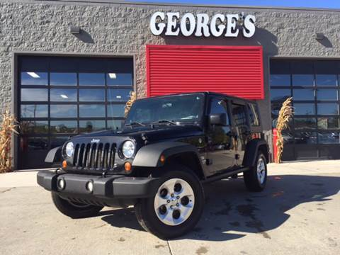 2010 Jeep Wrangler Unlimited for sale in Brownstown, MI