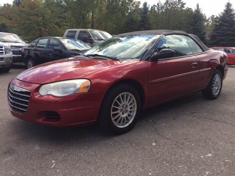 2004 Chrysler Sebring for sale in Brownstown, MI