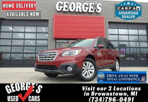 2017 Subaru Outback for sale at George's Used Cars - Pennsylvania & Allen in Brownstown MI