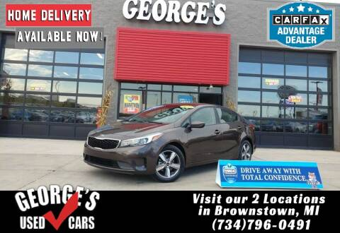 2018 Kia Forte for sale at George's Used Cars - Telegraph in Brownstown MI