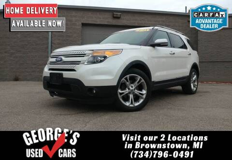 2011 Ford Explorer for sale at George's Used Cars - Pennsylvania & Allen in Brownstown MI