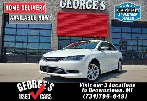 2015 Chrysler 200 for sale at George's Used Cars - Pennsylvania & Allen in Brownstown MI
