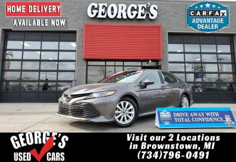 2018 Toyota Camry for sale at George's Used Cars - Pennsylvania & Allen in Brownstown MI