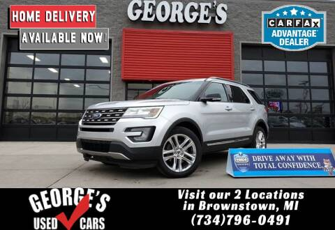 2017 Ford Explorer for sale at George's Used Cars - Pennsylvania & Allen in Brownstown MI
