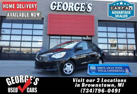 2019 Mitsubishi Mirage G4 for sale at George's Used Cars - Pennsylvania & Allen in Brownstown MI