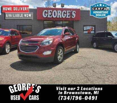 2017 Chevrolet Equinox for sale at George's Used Cars - Telegraph in Brownstown MI