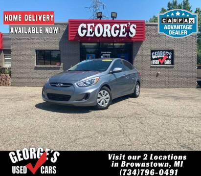 2017 Hyundai Accent for sale at George's Used Cars - Telegraph in Brownstown MI