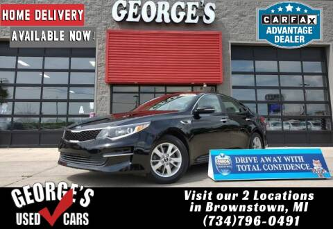 2016 Kia Optima for sale at George's Used Cars - Pennsylvania & Allen in Brownstown MI