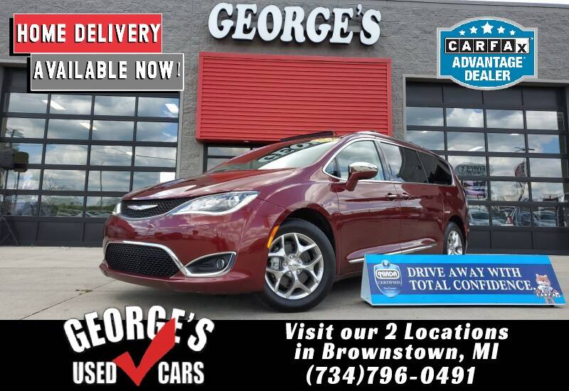 2018 Chrysler Pacifica for sale at George's Used Cars - Pennsylvania & Allen in Brownstown MI
