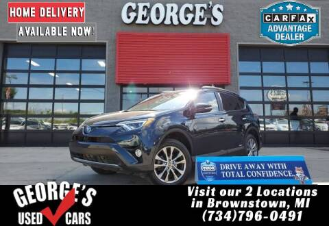 2018 Toyota RAV4 Hybrid for sale at George's Used Cars - Pennsylvania & Allen in Brownstown MI