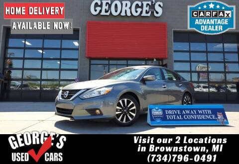 2018 Nissan Altima for sale at George's Used Cars - Telegraph in Brownstown MI