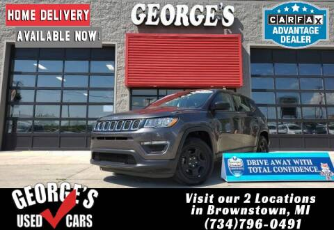 2018 Jeep Compass for sale at George's Used Cars - Telegraph in Brownstown MI