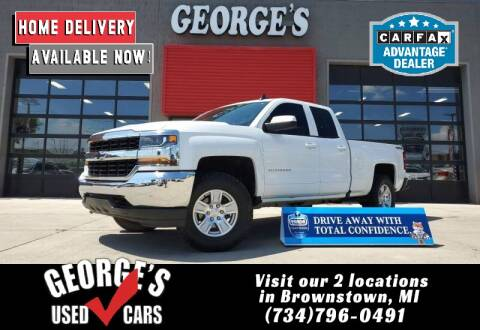 2017 Chevrolet Silverado 1500 for sale at George's Used Cars - Pennsylvania & Allen in Brownstown MI