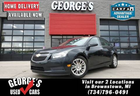 2013 Chevrolet Cruze for sale at George's Used Cars - Pennsylvania & Allen in Brownstown MI