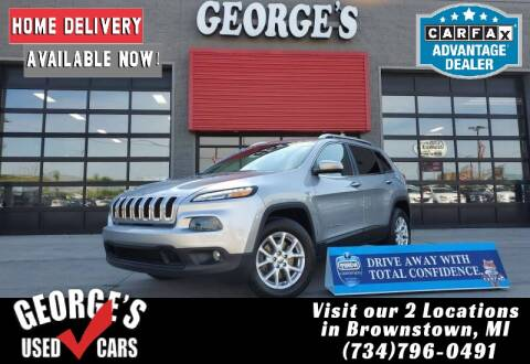 2017 Jeep Cherokee for sale at George's Used Cars - Pennsylvania & Allen in Brownstown MI