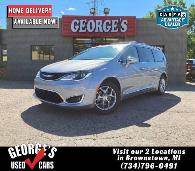 2018 Chrysler Pacifica for sale at George's Used Cars - Telegraph in Brownstown MI