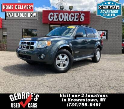 2008 Ford Escape for sale at George's Used Cars - Telegraph in Brownstown MI