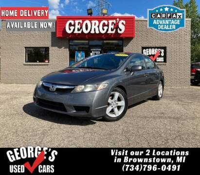 2011 Honda Civic for sale at George's Used Cars - Telegraph in Brownstown MI