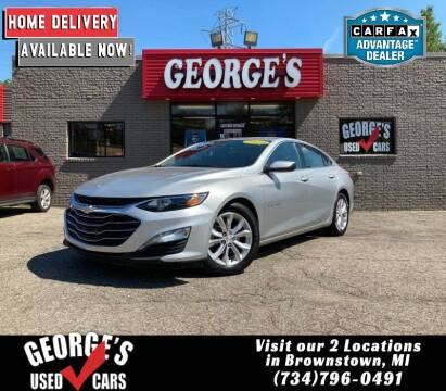 2019 Chevrolet Malibu for sale at George's Used Cars - Telegraph in Brownstown MI