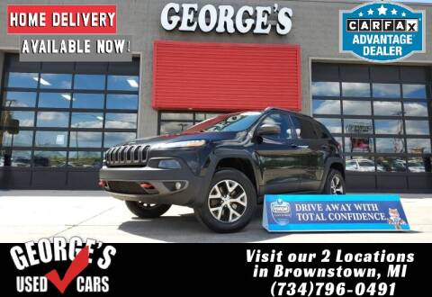 2015 Jeep Cherokee for sale at George's Used Cars - Pennsylvania & Allen in Brownstown MI