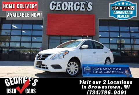 2018 Nissan Versa for sale at George's Used Cars - Pennsylvania & Allen in Brownstown MI