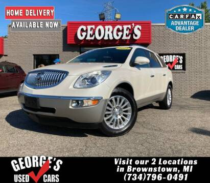 2011 Buick Enclave for sale at George's Used Cars - Telegraph in Brownstown MI