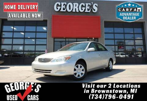 2004 Toyota Camry for sale at George's Used Cars - Pennsylvania & Allen in Brownstown MI