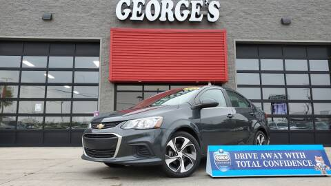 2018 Chevrolet Sonic for sale at George's Used Cars - Pennsylvania & Allen in Brownstown MI