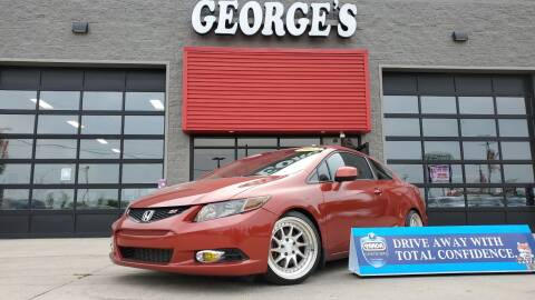 2012 Honda Civic for sale at George's Used Cars - Pennsylvania & Allen in Brownstown MI
