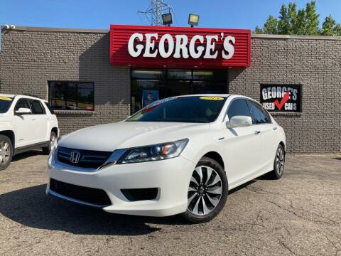 2015 Honda Accord Hybrid for sale at George's Used Cars - Telegraph in Brownstown MI