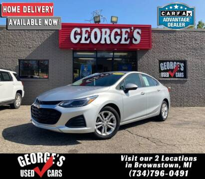 2019 Chevrolet Cruze for sale at George's Used Cars - Telegraph in Brownstown MI