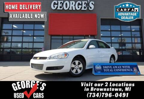 2010 Chevrolet Impala for sale at George's Used Cars - Pennsylvania & Allen in Brownstown MI