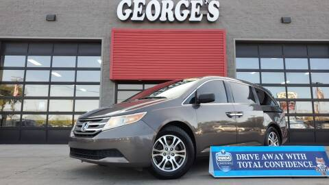 2012 Honda Odyssey for sale at George's Used Cars - Telegraph in Brownstown MI