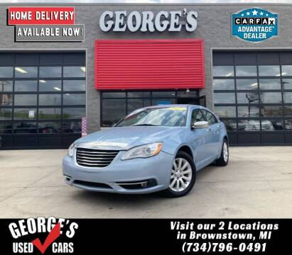 2013 Chrysler 200 for sale at George's Used Cars - Pennsylvania & Allen in Brownstown MI